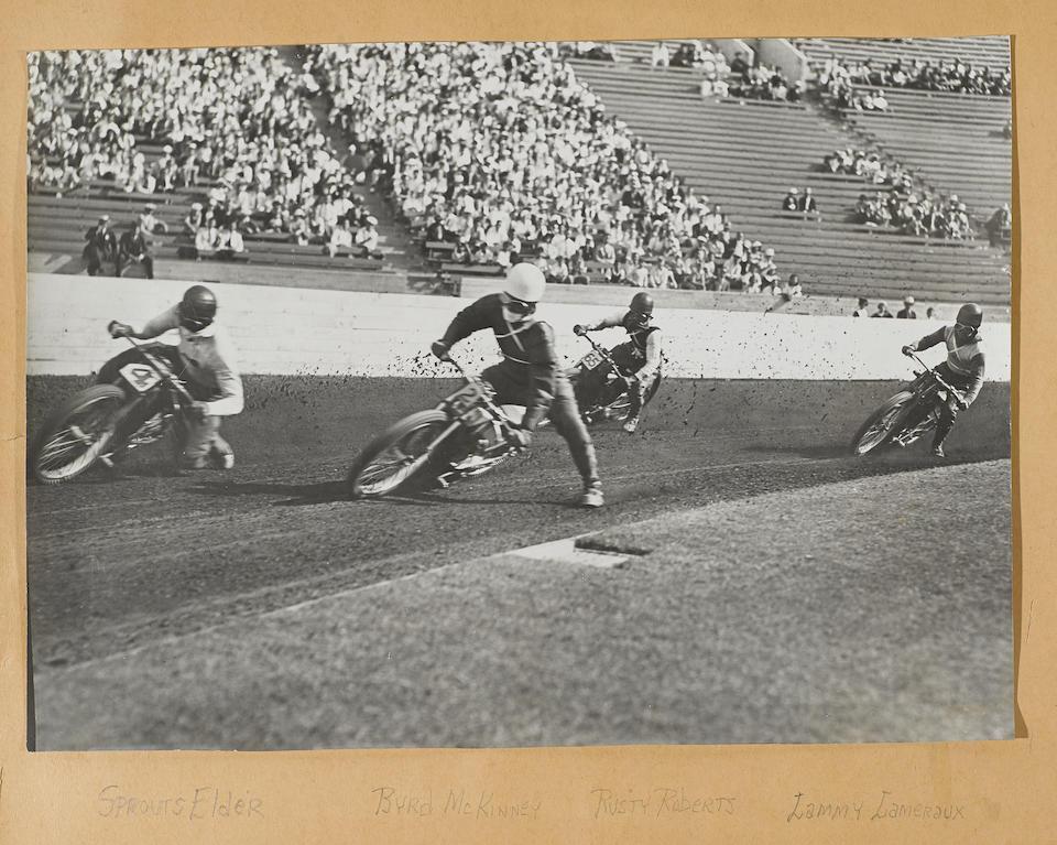 'Motorcycle Racing in California' Scrapbook  (3)