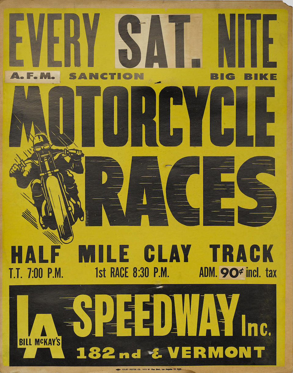 A Dodge City National Motorcycle Rally poster  (4)