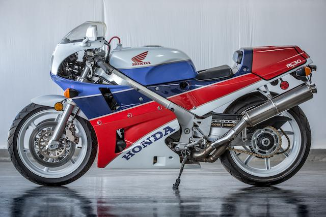 1990 Honda VFR750R Type RC30 Frame no. JH2RC3007LM2000118 Engine no. to be advised