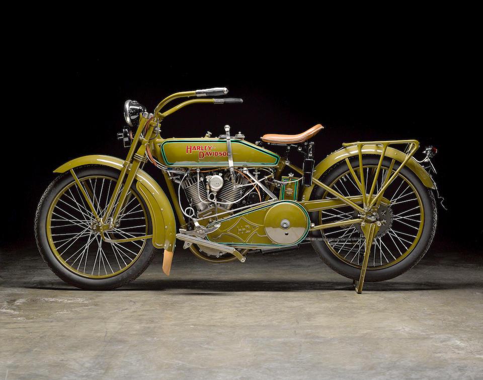 1920 Harley-Davidson 61ci Model 20J Engine no. L20T3172