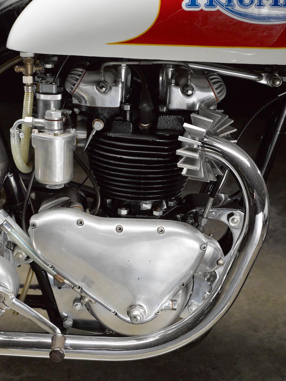 1951 Triumph 649cc 6T Bonneville Salt Flats Racing Motorcycle Frame no. 6268N Engine no. 6T-8602NA