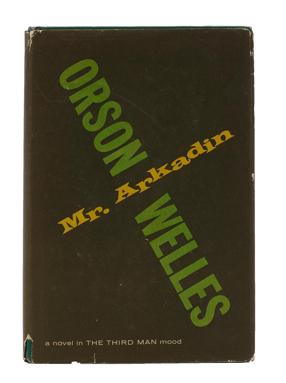 WELLES, ORSON. 1915-1985.  Mr. Arkadin. New York: Thomas Y. Crowell Co, 1956.