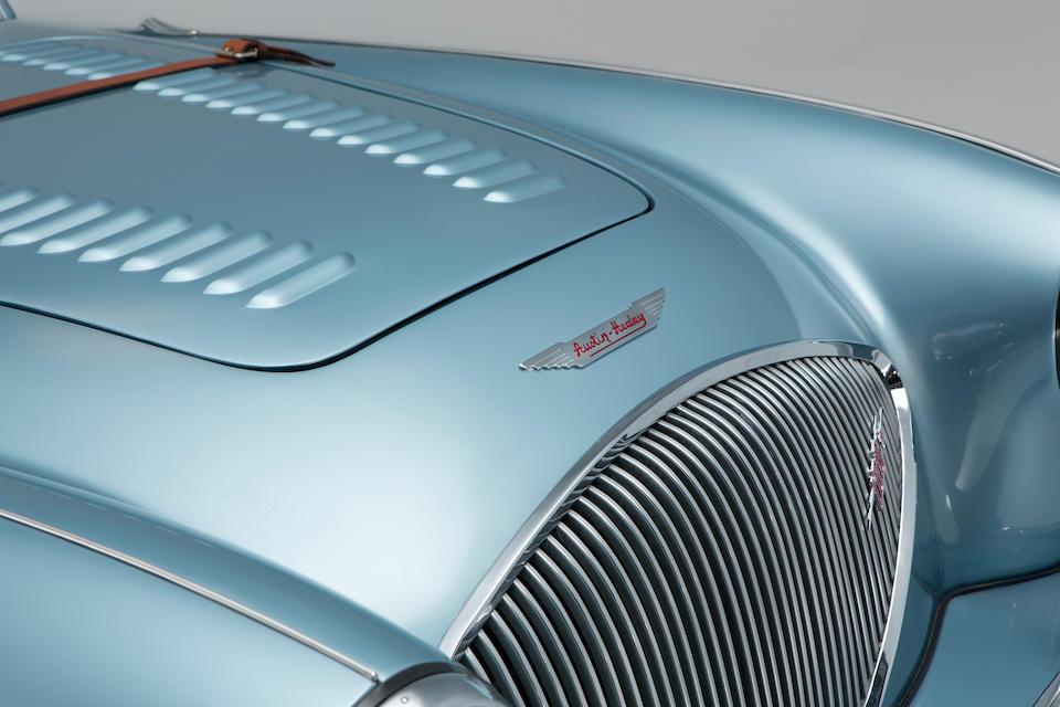 "<b>1955 Austin-Healey 100 BN1 ""Le Mans""</b><br />Chassis no. BN1L 222880<br />Engine no. 1B222880"