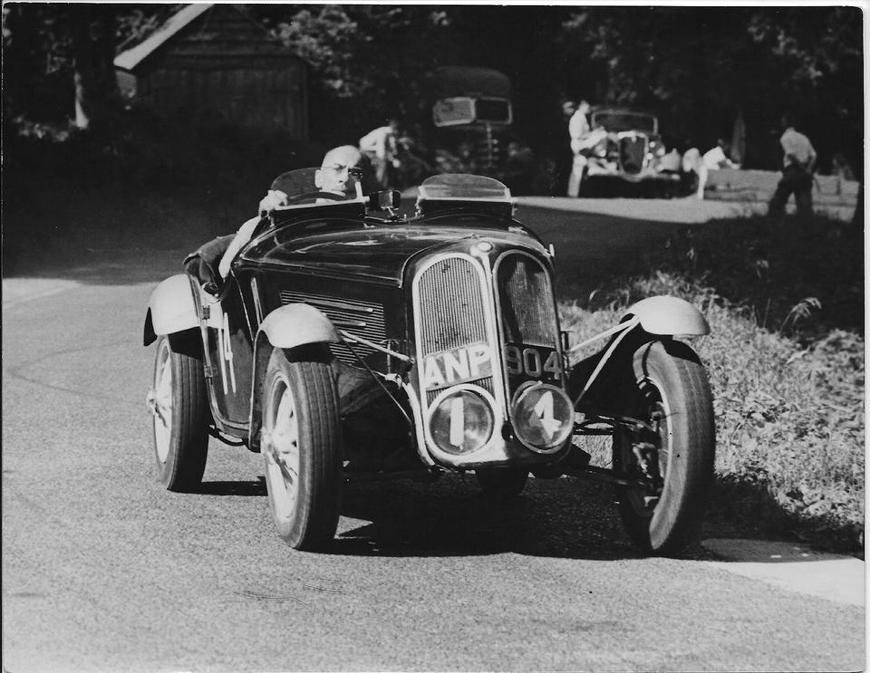 <b>1935-1952 Frazer Nash BMW 315/328 LMC Special Sports-racing two-seater</b><br />Chassis no. '51203'<br />Engine no. 100B2 4287