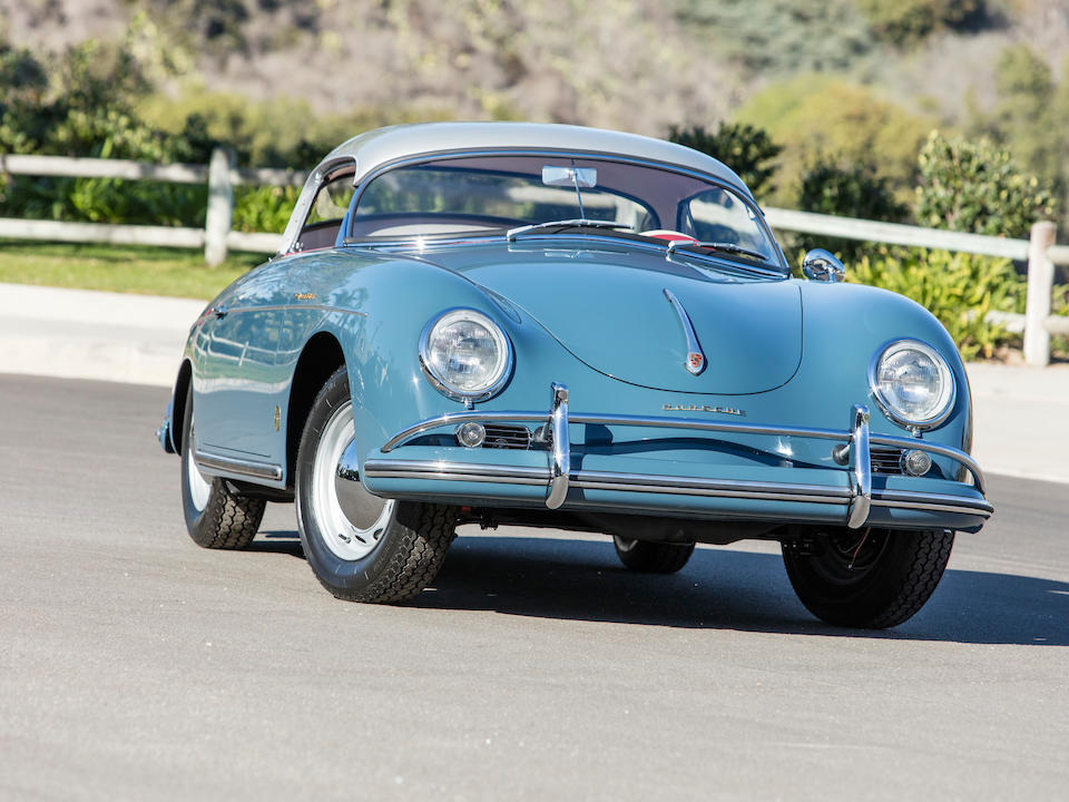 <b>1957 Porsche 356A 1600 SPEEDSTER</b><br />Chassis no. 83543<br />Engine no. 66130