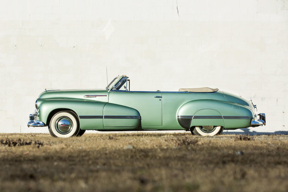 <b>1942 Oldsmobile Custom Cruiser 98 Convertible</b><br />Chassis no. 98-28403<br />Engine no. 8-106854HS
