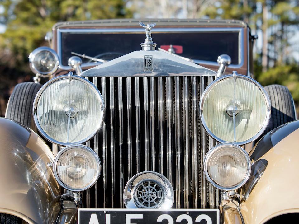 <b>1933 Rolls-Royce Phantom II Continental</b><br />Chassis no. 3MW<br />Engine no. FG 55