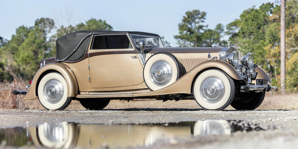 <b>1933 Rolls-Royce Phantom II Continental</b><br />Chassis no. 3MW<br />Engine no. FG 55