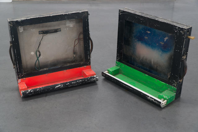 1966 Ford Illuminated Signal Pit Boards/Signal Boxes
