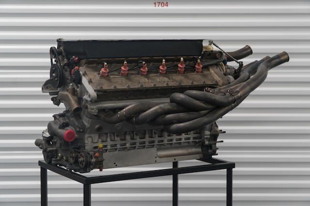 An F1 1979 Alfa Romeo Tipo 1260 V12 Engine No. 22, together with Transaxle