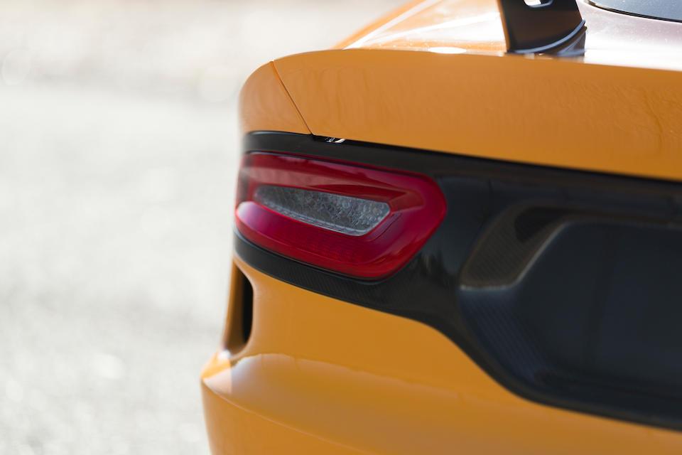 <b>2015 Dodge Viper TA 2.0</b><br />VIN. 1C3ADEAZ9FV510303