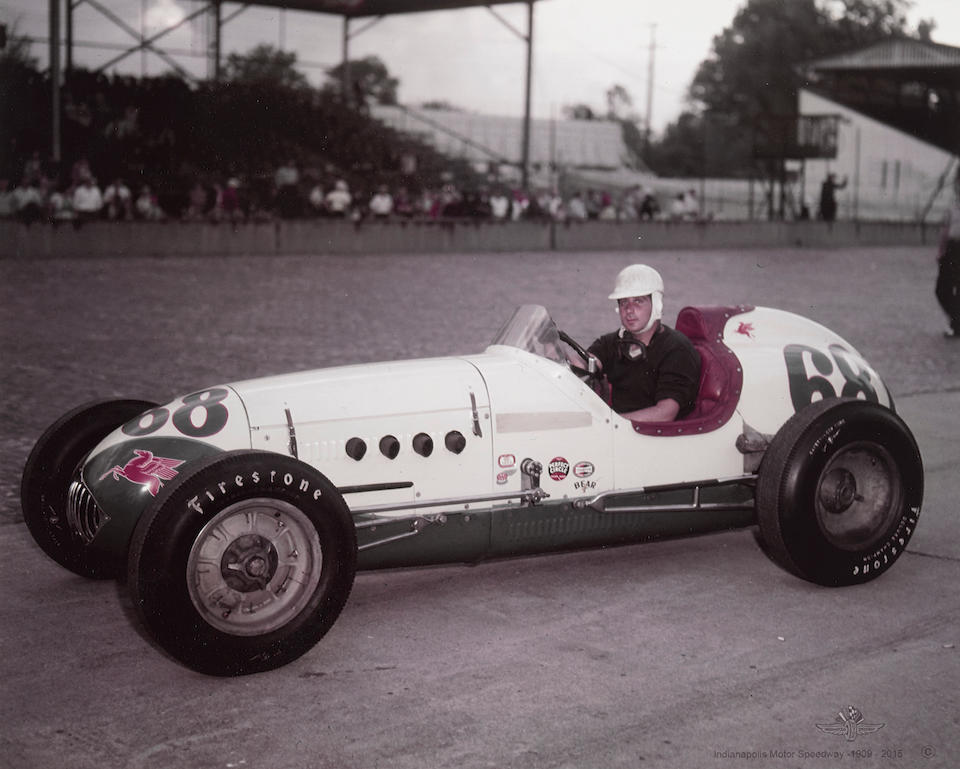 <b>1952 Kurtis KK4000 Single Seater</b><br />Chassis no. 345