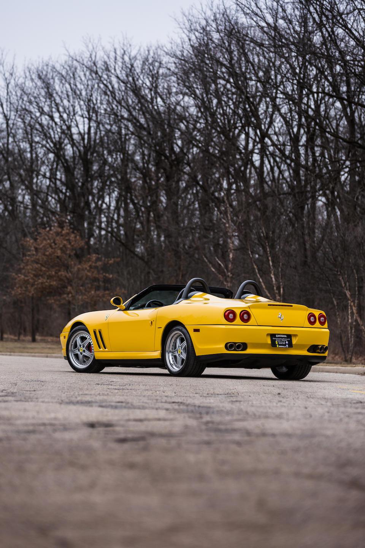 <b>2001 Ferrari 550 Barchetta</b><br />VIN. ZFFZR52A810124147