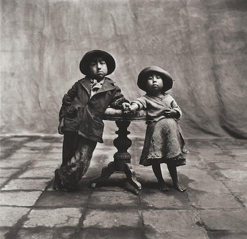 Irving Penn (1917-2009); Cuzco Children, Peru;