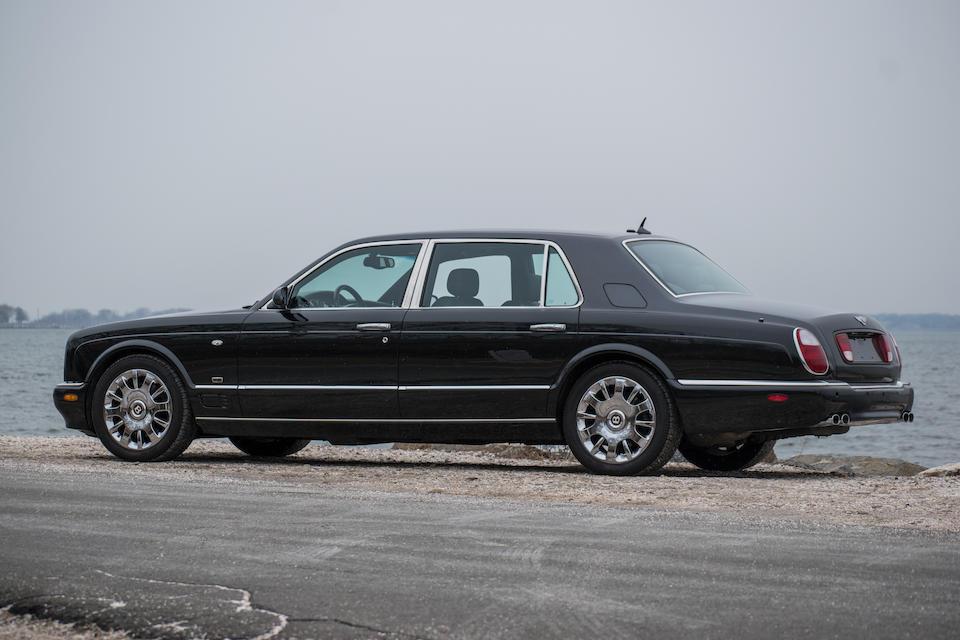 <b>2005 Bentley Arnage RL</b><br />VIN. SCBLE37GX5CX19347<br />Engine no. 106117
