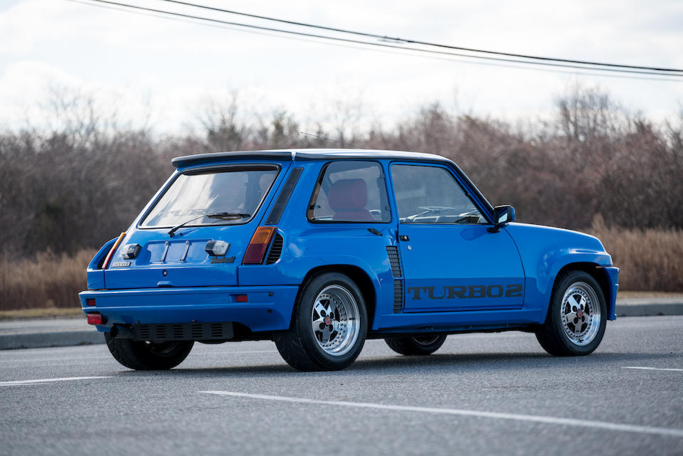 <b>1983 Renault 5 TURBO II</b><br />VIN. VF1822000D0000912