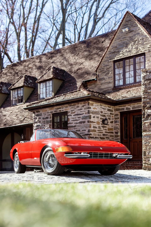 <b>1973 Ferrari 365 GTS/4 Daytona Spider</b><br />Chassis no. 16801<br />Engine no. B2630
