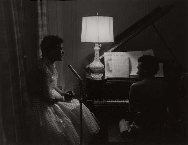Roy DeCarava (1919-2009); Billie Holliday and Hazel Scott;