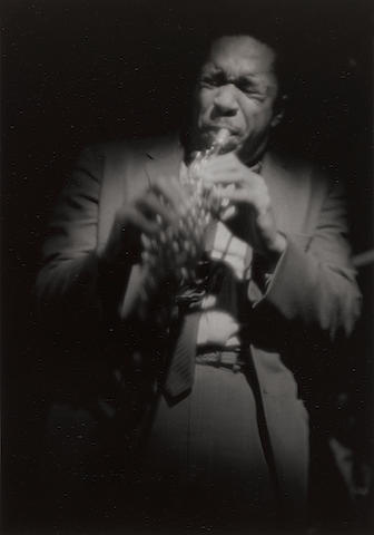 Roy DeCarava (1919-2009); John Coltrane on Soprano;