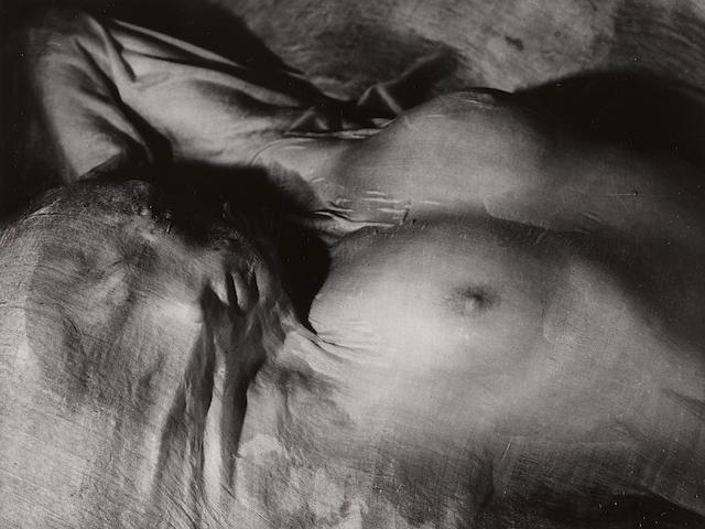 Erwin Blumenfeld (1897-1969); Wet Veil, Paris;