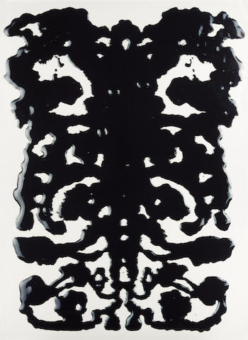 Vik  Muniz (born 1961); Rorschach II, from 'Pictures of Ink';
