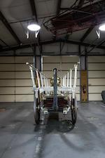 <b>c.1856 Button Hand-drawn Manual Pumper Fire Wagon</b><br />Serial no. 420