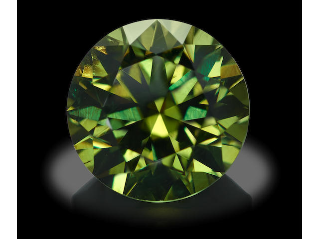Large Demantoid Garnet