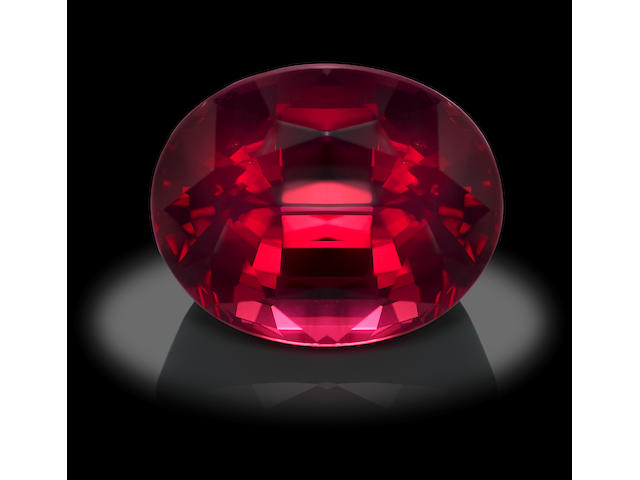 Very Large Rose Spinel