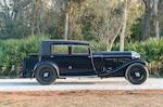 <b>1931 Bentley 8 Liter 'Silent Bloc' Saloon</b><br />Chassis no. YX 5113<br />Engine no. YX 5115