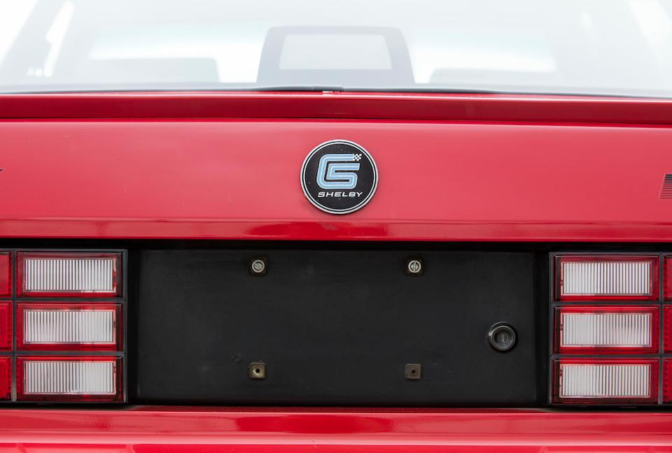 <b>1987 Dodge Shelby Lancer</b><br />VIN. 1B3BX68B5HN417265