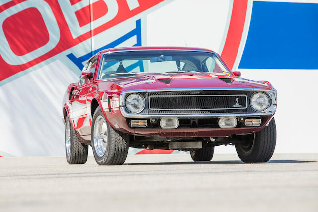 <b>1969 Ford Mustang Shelby GT500</b><br />Chassis no. SFM480266