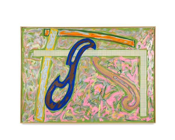 Frank Stella (American, born 1936) Green Solitaire, 1981