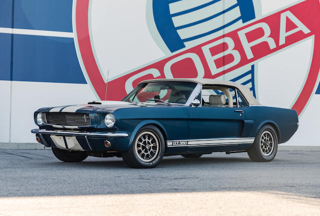 B 1966 Ford Mustang Shelby Gt350 Continuation Series Convertible