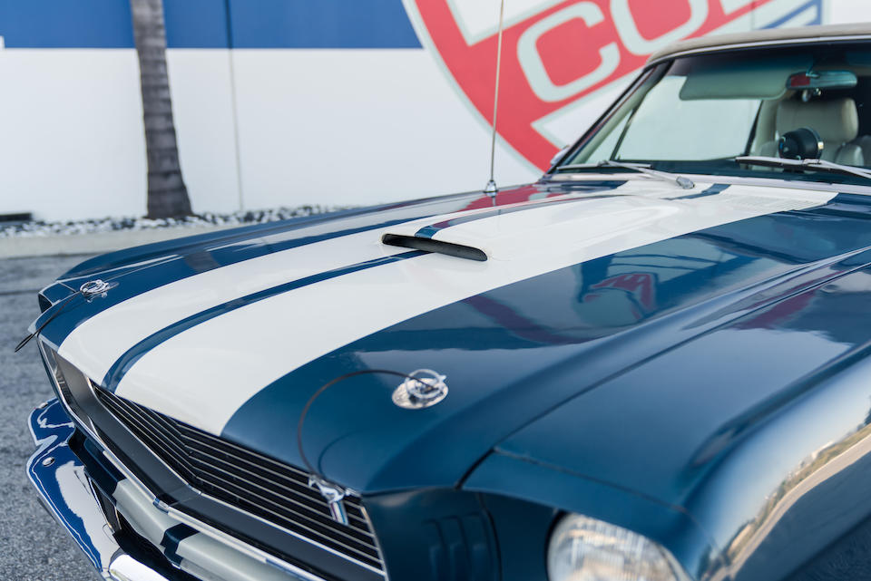 Bonhams : 1966 Ford Mustang Shelby GT350 Continuation Series