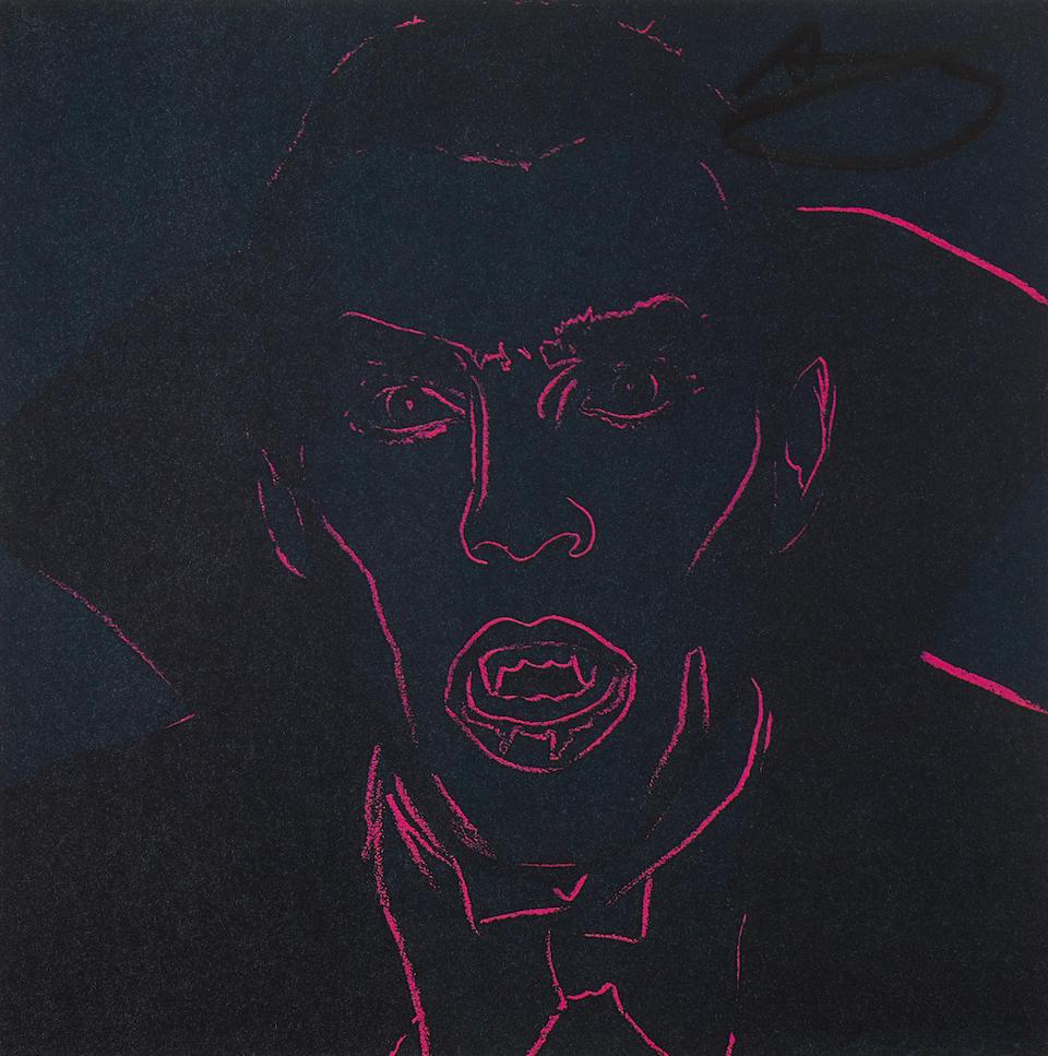 WARHOL, ANDY. 1928-1987. Andy Warhol: Myths. New York: Ronald Feldman Fine Arts, 1981.