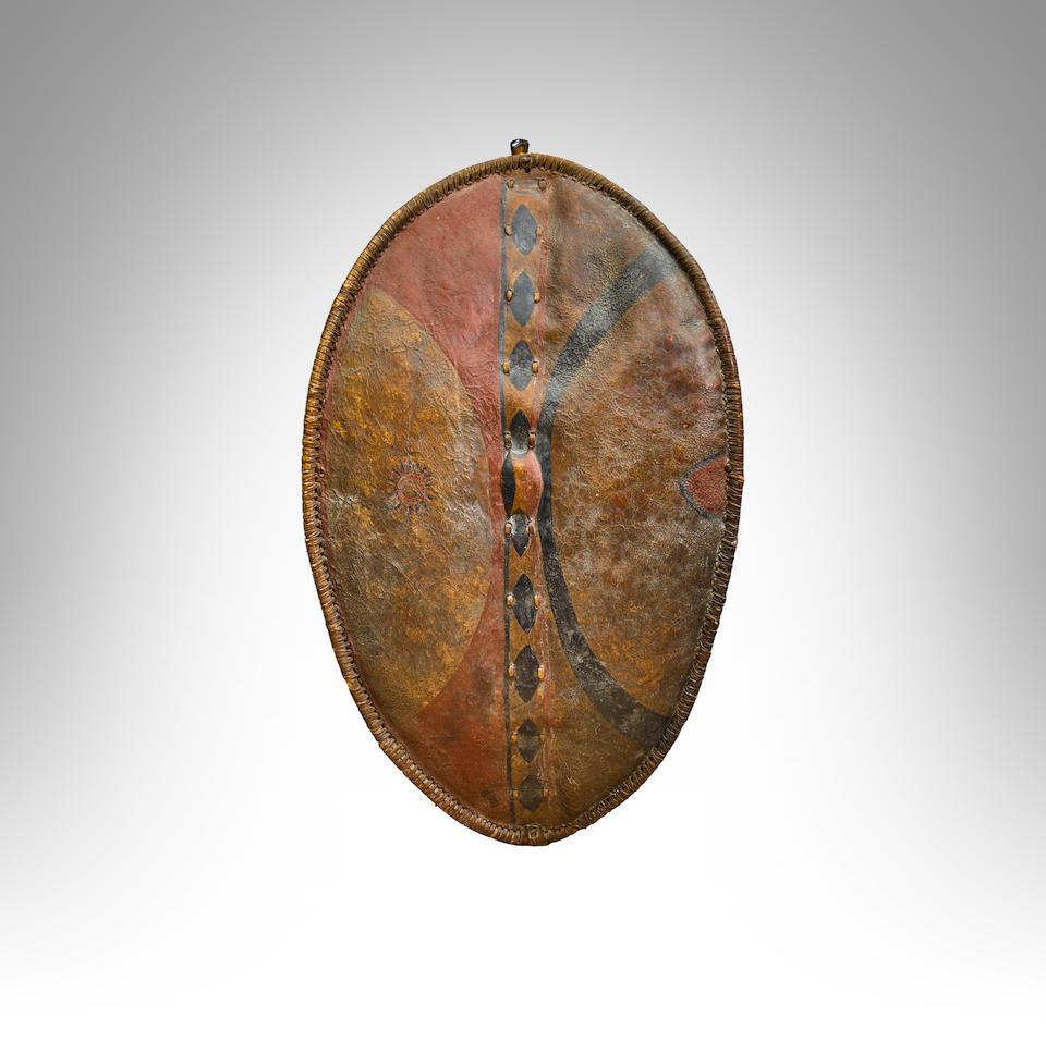 Bonhams : Maasai Shield, Kenya