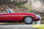<b>1966 Jaguar E-type 4.2 Liter Roadster</b><br />Chassis no. 1E13061<br />Engine no. 7E 9086-9