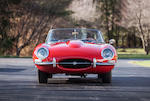 <b>1966 Jaguar E-type 4.2 Liter Roadster</b><br />Chassis no. 1E13061<br />Engine no. 7E 9086-9