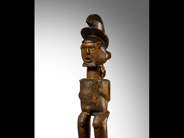 Teke Male Figure, Democratic Republic of the Congo