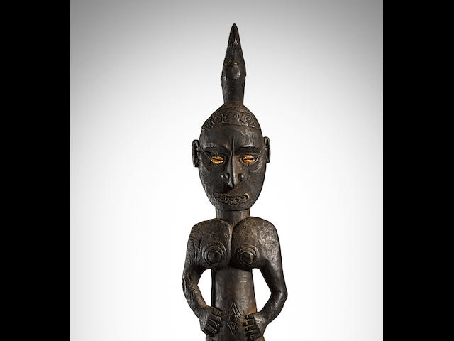 Hook Figure, Ramu River, Madang Province, Papua New Guinea