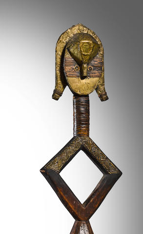 Kota Reliquary Figure, probably Shamaye group, Gabon