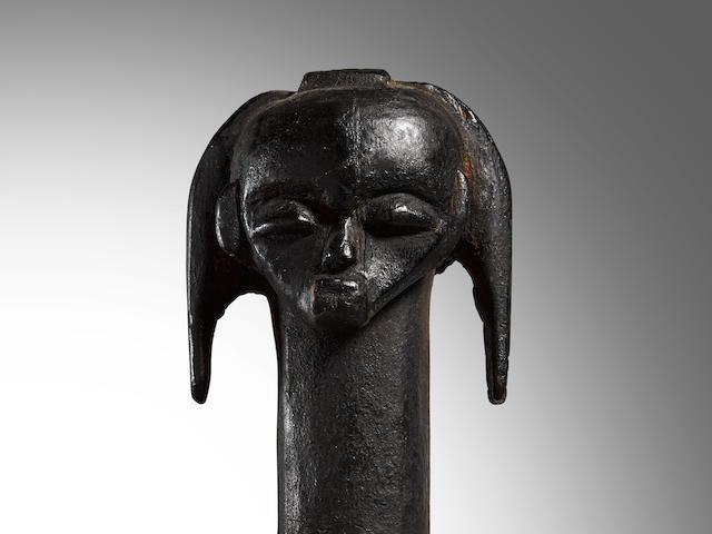 Fang Reliquary Head, Gabon
