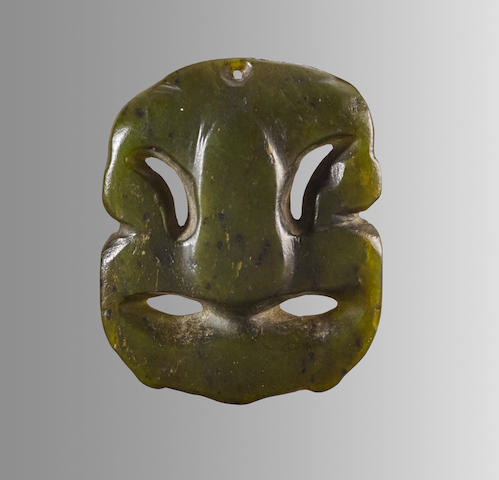 Maori Pendant, New Zealand, ca. 1600-1850