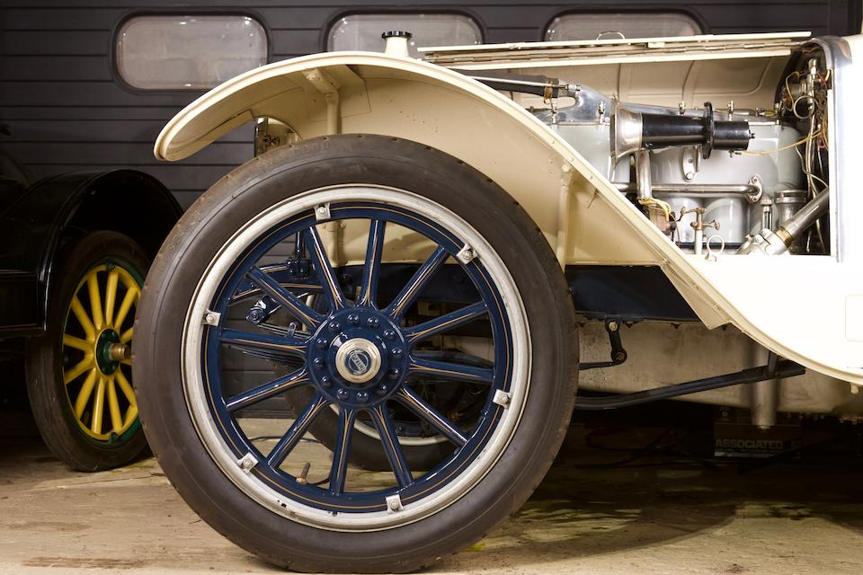<b>1914 Lozier MODEL 77 FIVE PASSENGER TOURING CAR</b><br />Chassis no. 8215<br />Engine no. 8207