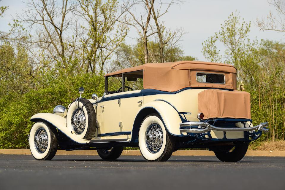 <b>1930 Cord L-29 Convertible Sedan</b><br />Chassis no. FDA3007