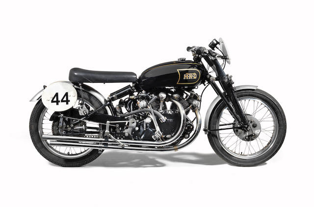 Ex-Hans Stärkle, 2nd example built, 5 owners and history from new, present owner for 50 years,1949 Vincent 998cc Black Lightning Series-B Frame no. RC3548 Engine no. F10AB/1C/x1648