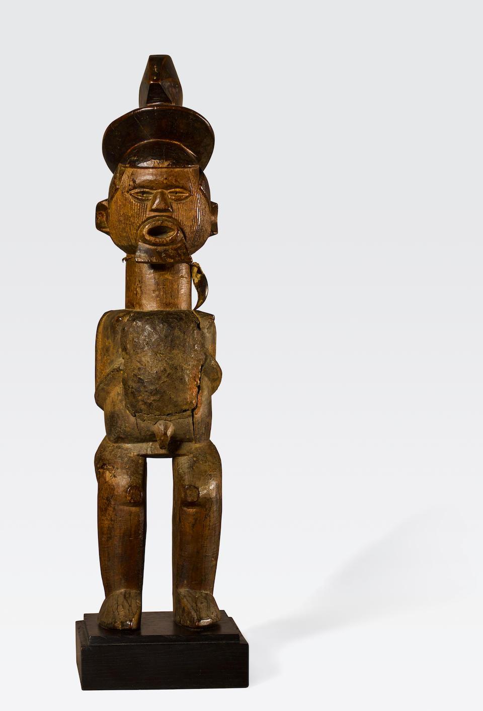 Teke Male Figure, Democratic Republic of the Congo