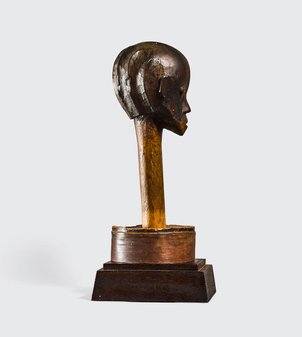 Fang Reliquary Head, Betsi Group, Gabon