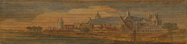 FORE-EDGE PAINTINGS. SHERIDAN, R.B. The Works. Paris: Malepeyre, 1822.