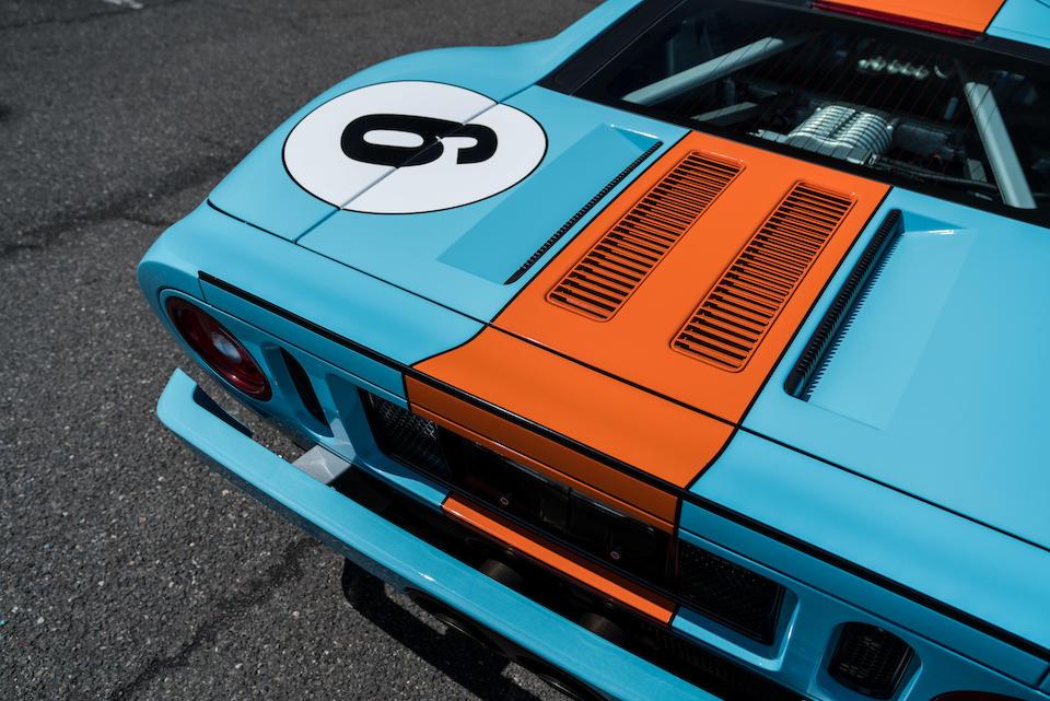 <b>2006 Ford GT Heritage Edition</b><br />VIN. 1FAFP90S66Y400284